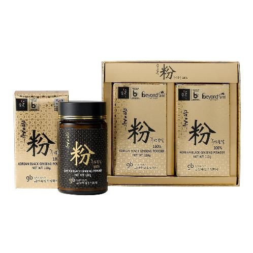 Geumheuk premium healthy black ginseng powder (Black Ginseng root 70%, Black Ginseng tail 30%)